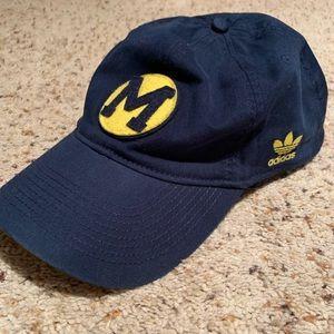 University of Michigan Adidas Baseball Cap